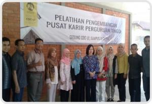Akademi Farmasi Samarinda mengikuti pelatihan Pengembangan Pusat Karir di CDC Universitas Indonesia