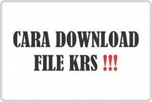 Cara Download File KRS