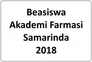 Beasiswa Akademi Farmasi Samarinda Tahun 2018